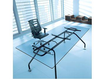 Brand New Glass Top Executive Desk