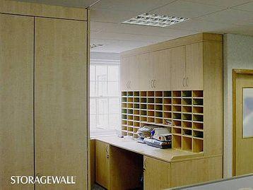 Postroom storage - Bespoke office furniture