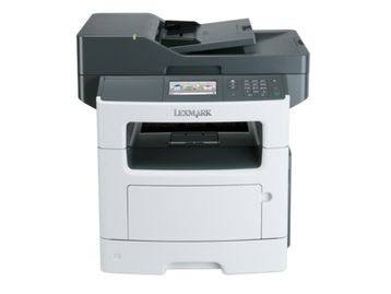 Brand new Lexmark XM1145 Multi-functional black/white desktop printer - 45 pages per minute.
