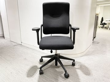Used Rohde Grahl basic 'Xenium' chair upholstered in black fabric