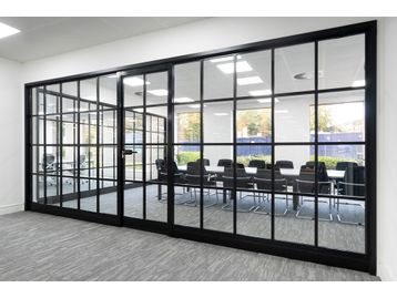 Brand New Glass Partitioning System
