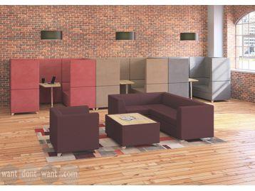 Brand New L-Shaped Reception/breakout Sofa