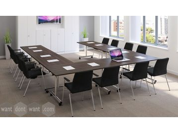 Brand New 'Flip-Top' tables with choice of sizes and finishes