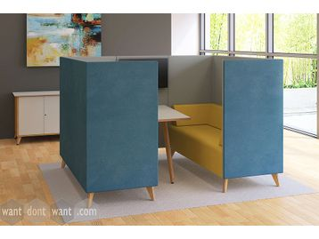 Brand New Office Meeting Booth - Many Fabric Options Available