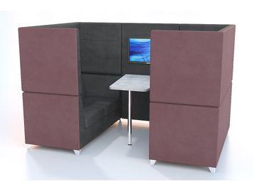 High Back Meeting Pod Booth