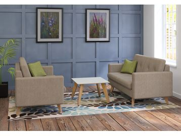 New 2 Seater Fabric Sofas
