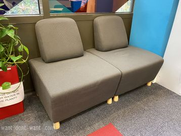 Used Boss Design 'Adda' single seat modules to match the sofas