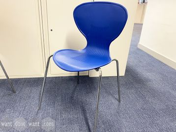 Used Sven Christiansen 'XRC1' stacking chairs in 4 colours
