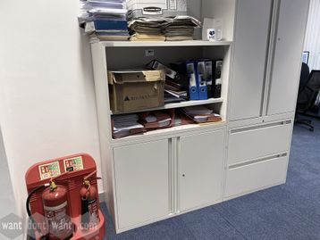 Used 'Maine' storage and open shelf unit