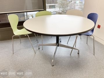 Used Vitra 'Segmented Table' 1300mm diameter, designed by Charles Eames