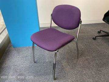 Used PSI 'Sequel' stacking chairs