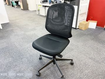 Used Vitra MedaPal task chairs without arms