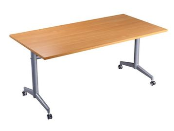 Excellent Flip-Top tables with locking castors available in 2 different sizes.
