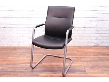 Used Connection 'IS' leather chairs