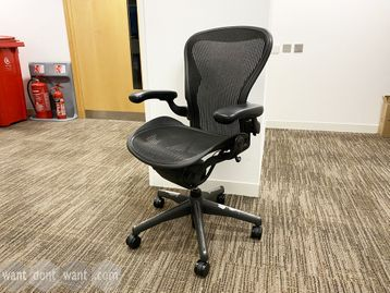 Ever popular used Herman Miller Aeron chairs (size B)