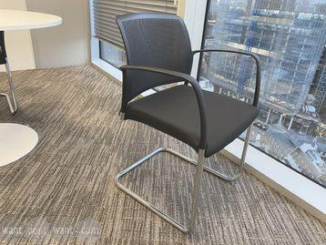 Used Boss 'Mars' meeting chairs