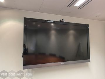 Used 54 Sony Bravia flat screen tv