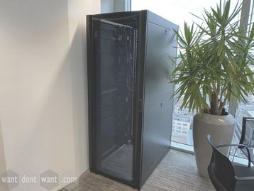 Used 'APC' Server/Data cabinets in very good condition