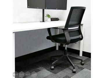 <b>Best Desk & Chair Deal</b><br> Brand new white desk and a mesh-back task chair FREE Delivery for Home Workers!