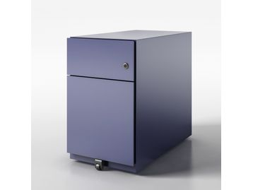 Bisley Quality 2-drawer Slimline Pedestals in a variety of finishes.