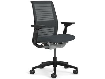 Refurbished Steelcase fully adjustable 'Think' chairs with mesh backs. <b>Free 48 hour delivery</b>