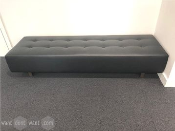 Used Hitch Mylius (HM46T) bench upholstered in Camira Marvel Thor fabric