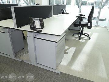 Used Techo Side-By-Side Inline Desks