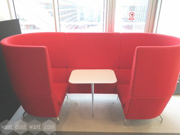 Used Orangebox 'Cwtch' 2 Person Seating Booth