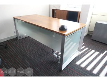 Used Steelcase 'Werndl' 1800mm executive desks