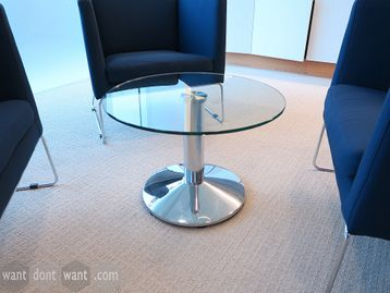Used 600mm Glass Coffee Table