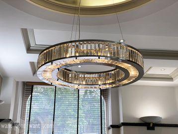 Used stunning circular chandelier