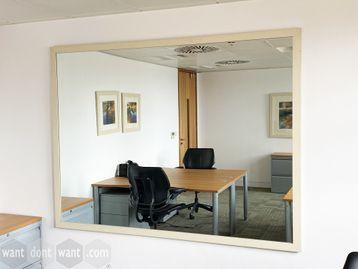 Used large rectangular mirror - 2000mm w x 1500mm high