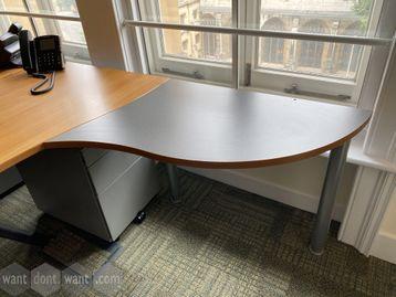 Extension returns for the double wave desks. 800mm d x 580mm w