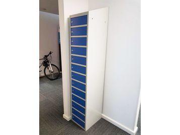 Used fully welded lockable Laptop lockers