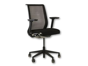 Over 400 x Used Steelcase Think office Operator chairs in Black - Choice of seat colour