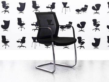 Refurbished Orangebox Workday Cantilever Chairs in Black
