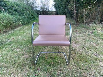Used Knoll Brno Leather Chairs