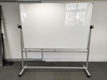 Used Whiteboard on Wheels