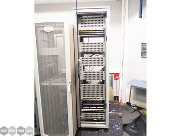 Used Data Cabinet with Glass Door