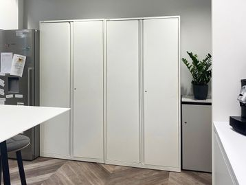 Used Tall Double Door Cupboards