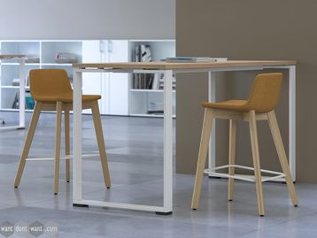 Brand New High Tables with O Frame - Various Finishes