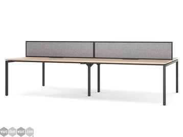 Brand New Bench Desks - Various Sizes, Finishes and Configurations