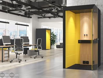 Brand New Acoustic Office Booth Pod - Perfect for Zoom Meetings