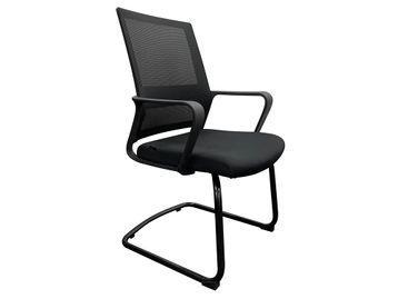Brand New Mesh Back Cantilever Chairs in Black