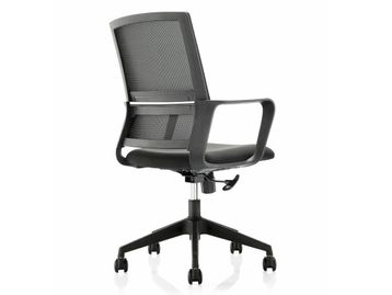 Brand New Mesh Back Chairs with Casters in Black