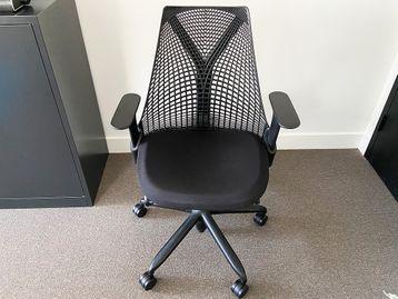 Used Herman Miller Sayl Chairs in Black