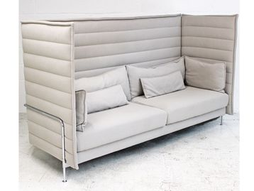 Used Vitra Alcove High Back Sofa