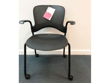 Brand New Herman Miller Caper Chairs with Castors