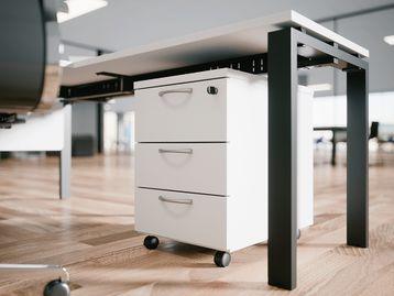 Brand New 2 or 3 drawer MFC Mobile Pedestals