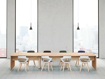 Collaborative Brand New Boardroom Meeting Tables